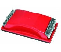 Брусок шлифовальный пластмассовый с зажимами 165х85мм