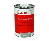 CarFit.  (7-603-1000) Растворитель универсальный для акриловых эмалей, грунтов и лаков, 1л.