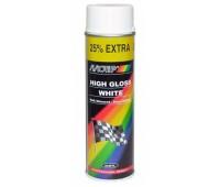 Motip. 4004 Краска белая глянцевая, спрей 500мл.