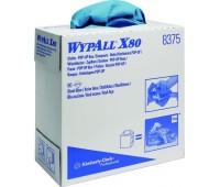 KIMBERLY-KLARK. WypAll Х80 салфетки многоразовые для больших загрязнений 23 х 42 см, пачка 80шт