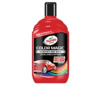 TURTLE WAX. (52711) Полироль Color Magic Plus красный, 500 мл