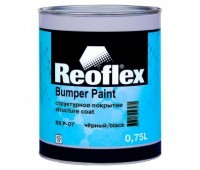 REOFLEX. Структурное покрытие однокомпонентное чёрное  0,75л