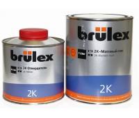 Brulex. (932910126) Прозрачный матовый акриловый лак + отвердитель (1л+0.5л)