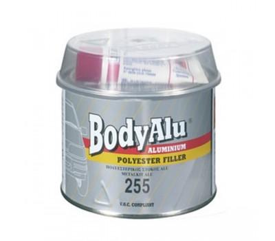 Body 255. шпаклевка полиэфирная алюминиевая с отвердителем, 0.25 кг