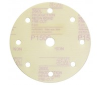3М. 62011 Круг шлифовальный на липучке,150мм 9отв. Р1500