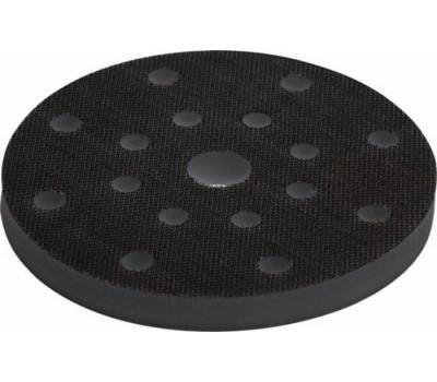 (715010) Ультрамягкая прокладка для шлифмашинки на липучке 150х10 (15отв.)
