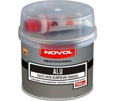 Novol. Шпаклевка полиэфирная алюминиевая с отвердителем, 0.25 кг