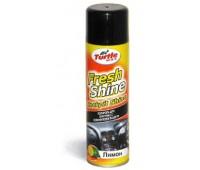"Turtle Wax. 53006 Полироль для пластика с освежителем Fresh Shine CITRUS ""Лимон"", 500мл"