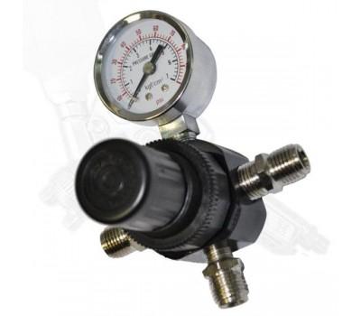 """Voylet. AR-804 регулятор давления на краскопульт с манометром, 1/4"""""""