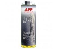 APP. U200UBS Средство для защиты кузова от ударов камней (антигравий) чёрный 1кг