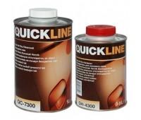 Quickline. Экспресс-Лак акриловый HS+отвердитель (комплект 1л+0.5л)