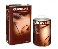 Quickline. Лак прозрачный акриловый HS+отвердитель (комплект 5л+2.5л)