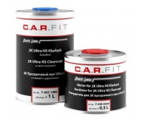 CarFit (7-402-1500) BL 2К Прозрачный акриловый лак Ultra HS + отвердитель (комплект 1л+0,5л)