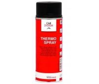 CARSYSTEM (126086) акриловая термостойкая краска 600 градусов, спрей 400 мл, чёрный