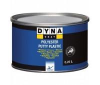 DYNACOAT. Plastic  шпаклевка для пластиков с отвердителем, 0.4кг
