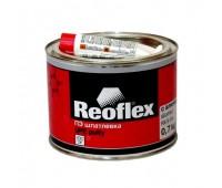 REOFLEX.  Шпатлевка с алюминием Alumet c отвердителем, 1 кг