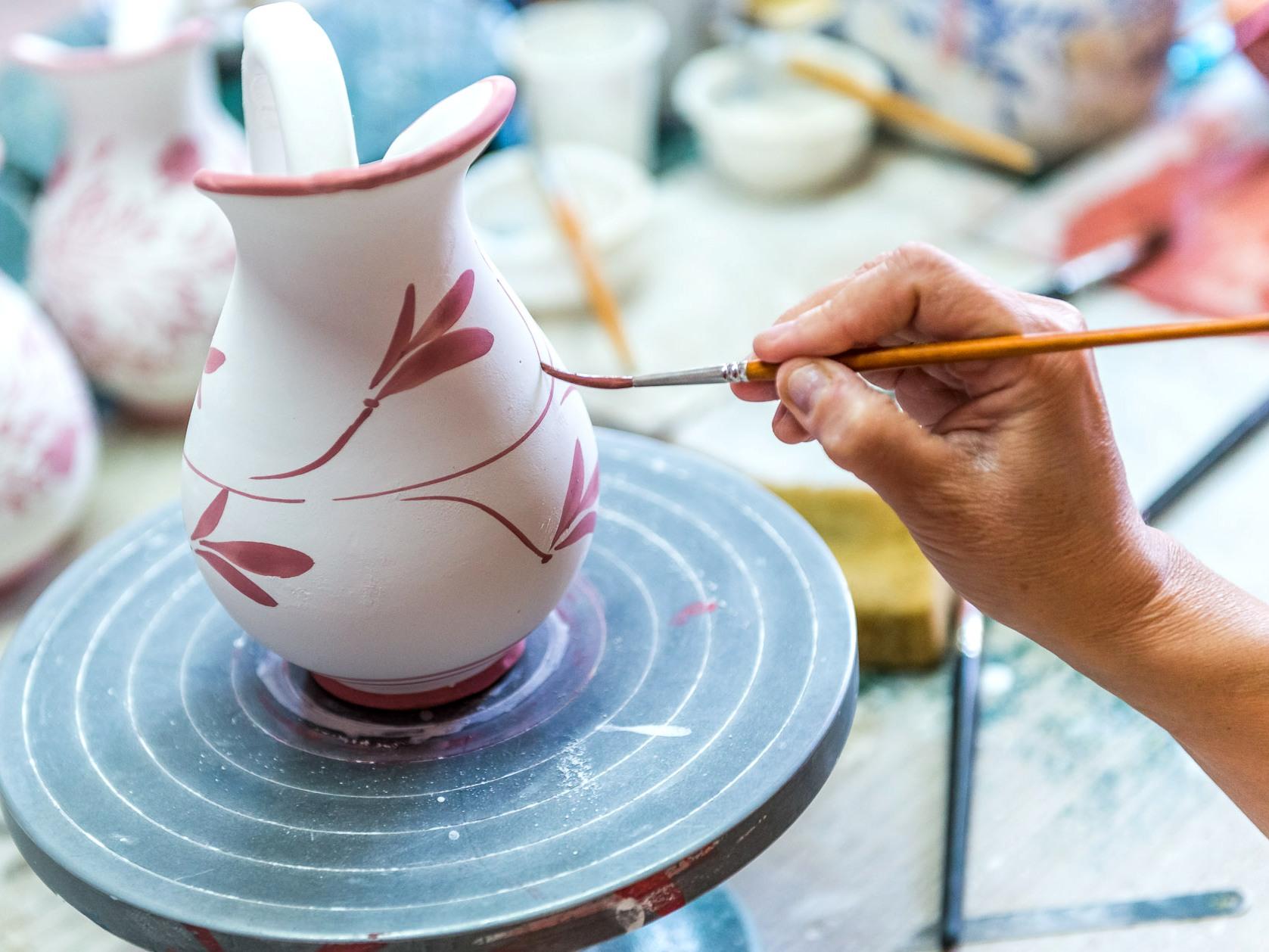 краска для керамики и фарфора