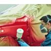 покраска краскопультом автомобиля